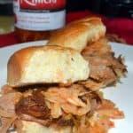 Hawaii Recipe Challenge: Big Island Style Pulled Pork Sliders on Hawaiian Sweet Rolls with Kimchi