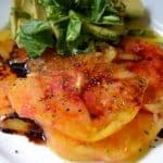 Rainbow on a Plate: Heirloom Tomato Salad