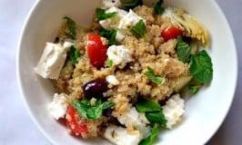 Greek Infused Quinoa Salad