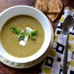Creamy Curried Green Lentil Soup