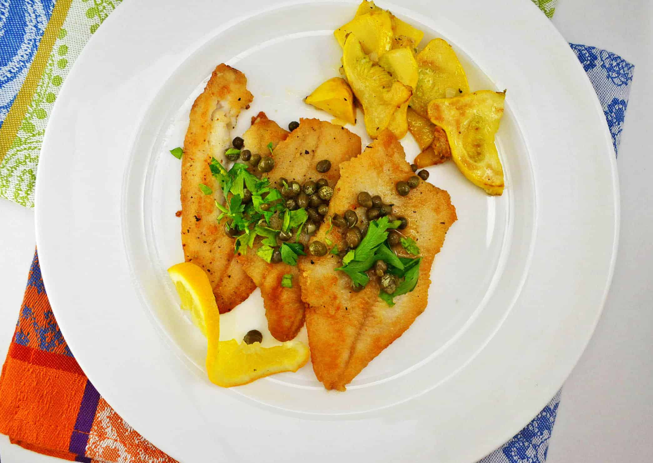 Julia Child's Fillets of Sole Meuniere