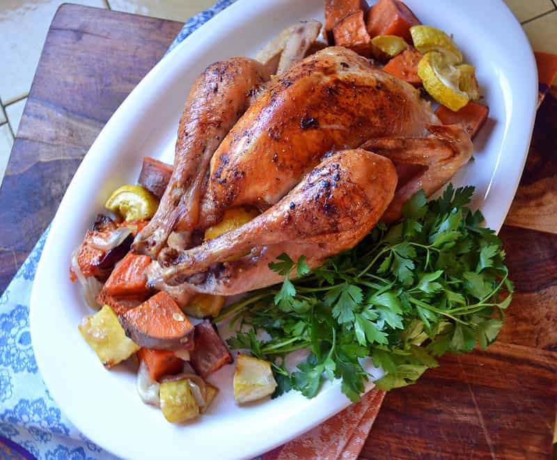 roast chicken julia child s classic roast roast chicken julia child ...