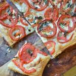 Tomato Mascapone Tart