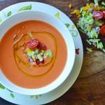 Silky Smooth Tomato Gazpacho