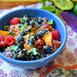Cold and Refreshing Quinoa Fruit Salad