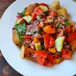 Grilled Panzanella Salad for Slave-Free Tomatoes