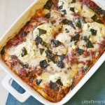 Spinach and Zucchini Lasagna {Virtual Potluck for Christy Jordan}