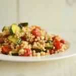 Israeli Couscous with Roasted Vegetables