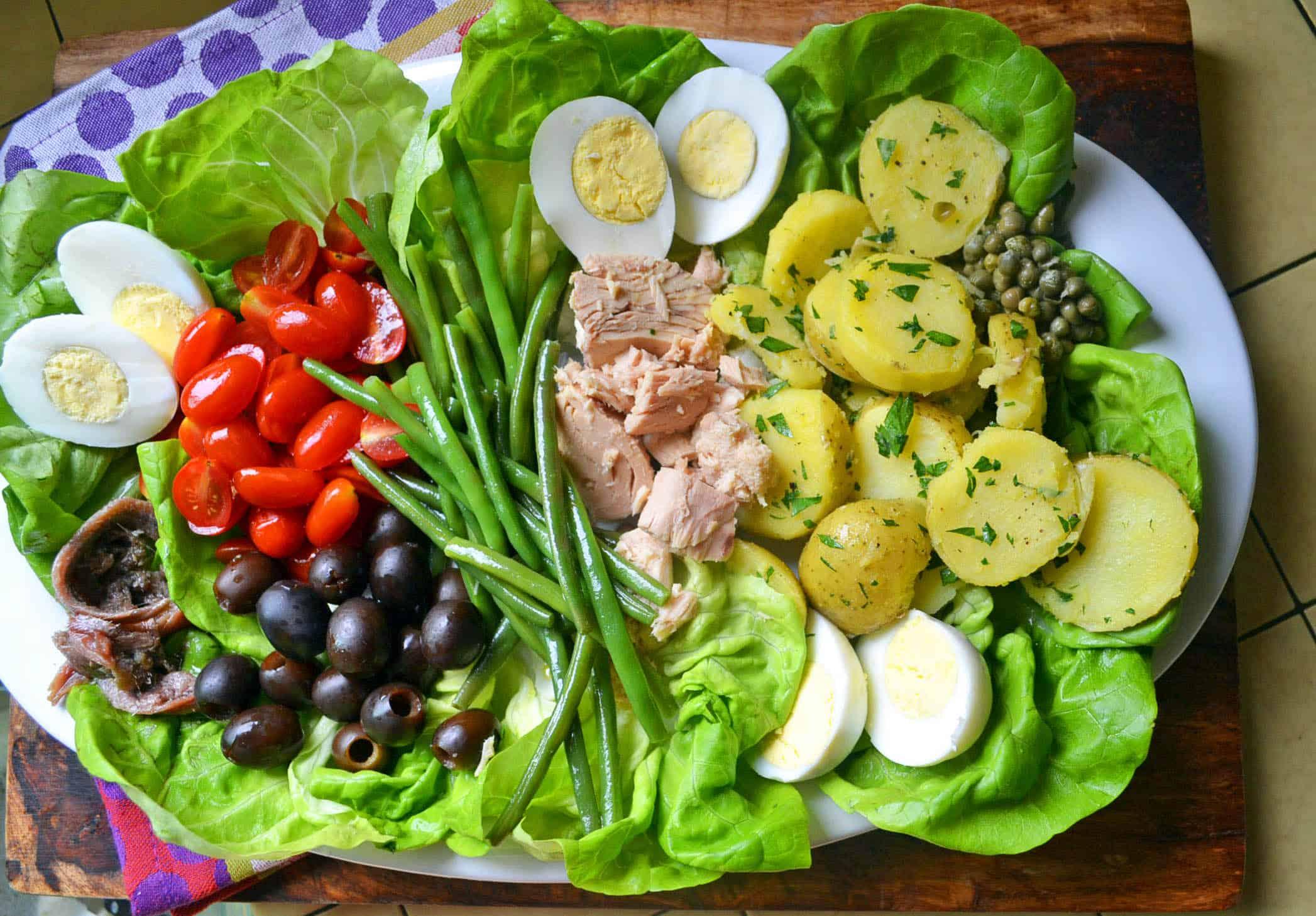 julia child's salad nicoise | the little ferraro kitchen