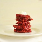 Ruby Red Beet Latkes with Cumin