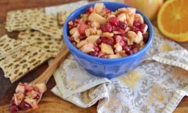 Apple and Cranberry Charoset for Passover #SundaySupper