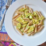 Creamy Penne with Zucchini