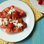 Sweet and Spicy Watermelon Ricotta Salad