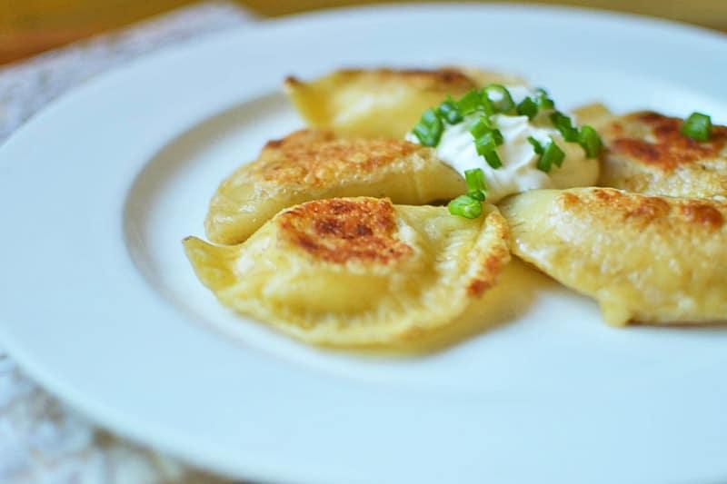 Easy Homemade Pierogies | The Little Ferraro Kitchen