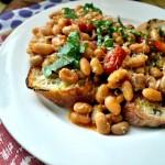 White Bean Ragout with Pancetta