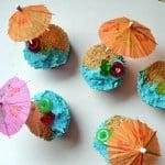 Beach Cupcakes for #SundaySupper