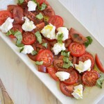 Simple Caprese Salad for #SundaySupper