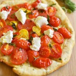Herbed Tomato and Goat Cheese Flatbread