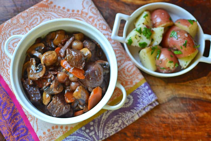 Julia Child's Boeuf Bourguignon for Her 100th Birthday + Giveaway