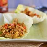 Spicy Asian Chicken Lettuce Wraps