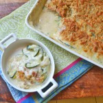 Zucchini Gratin and Menu Planning