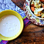 Homemade Tahini Sauce with Roasted Vegetables