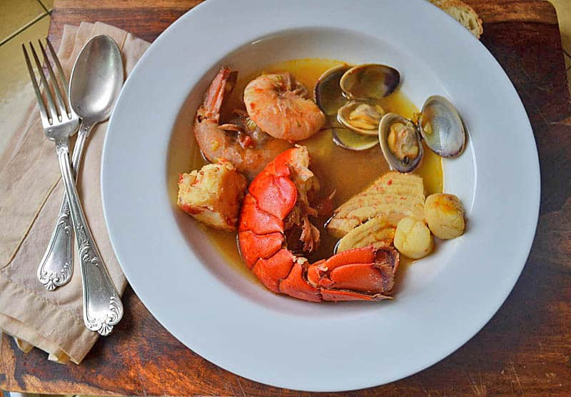 Julia Child's Bouillabaisse | The Little Ferraro Kitchen