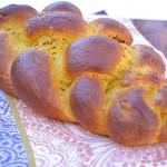 My 1st Challah-Pumpkin Challah