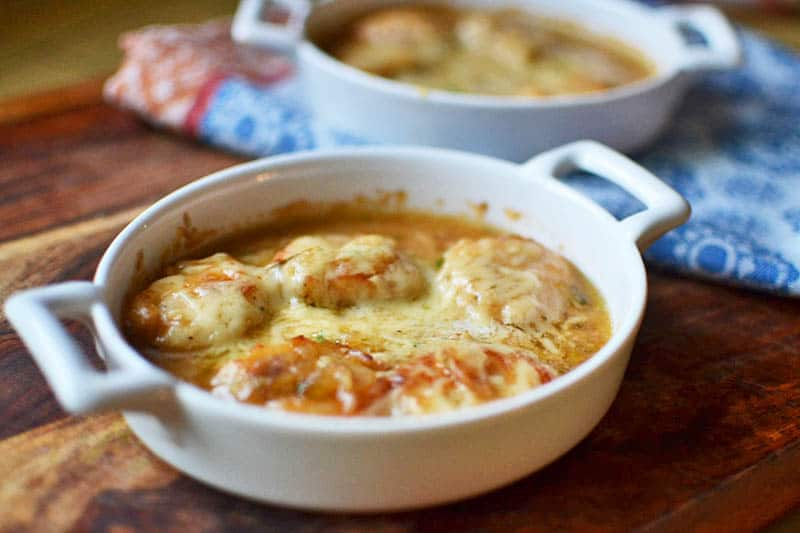 Julia Child's Scallops Gratineed