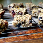 Vegan Banana Granola Bars