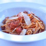 Linguini Bolognese with Wild Boar