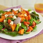 Winter Sweet Potato Salad with Blood Orange Vinaigrette