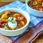 Savory Pumpkin Beer Chili