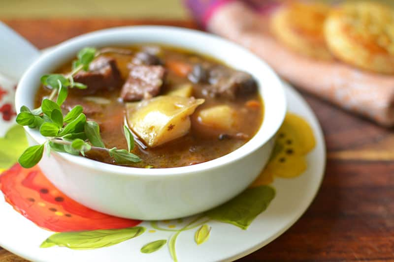 Beef Stew with Bacon | The Little Ferraro Kitchen
