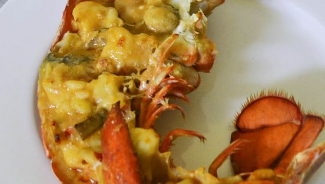 Learn to make Julia Child's Lobster Thermidor recipe. A creamy and decadent lobster dish with white wine, mushrooms and splash of cognac.