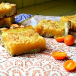 Kumquat-Orange Cardamom Bars {Guest Post}