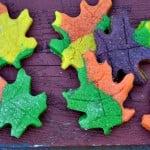 Thanksgiving Leaf Cookies