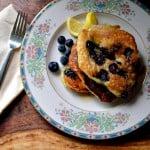 Meyer-lemon Blueberry Pancakes