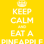 If it has pineapple in it…