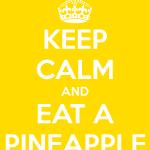 If it has pineapple in it…