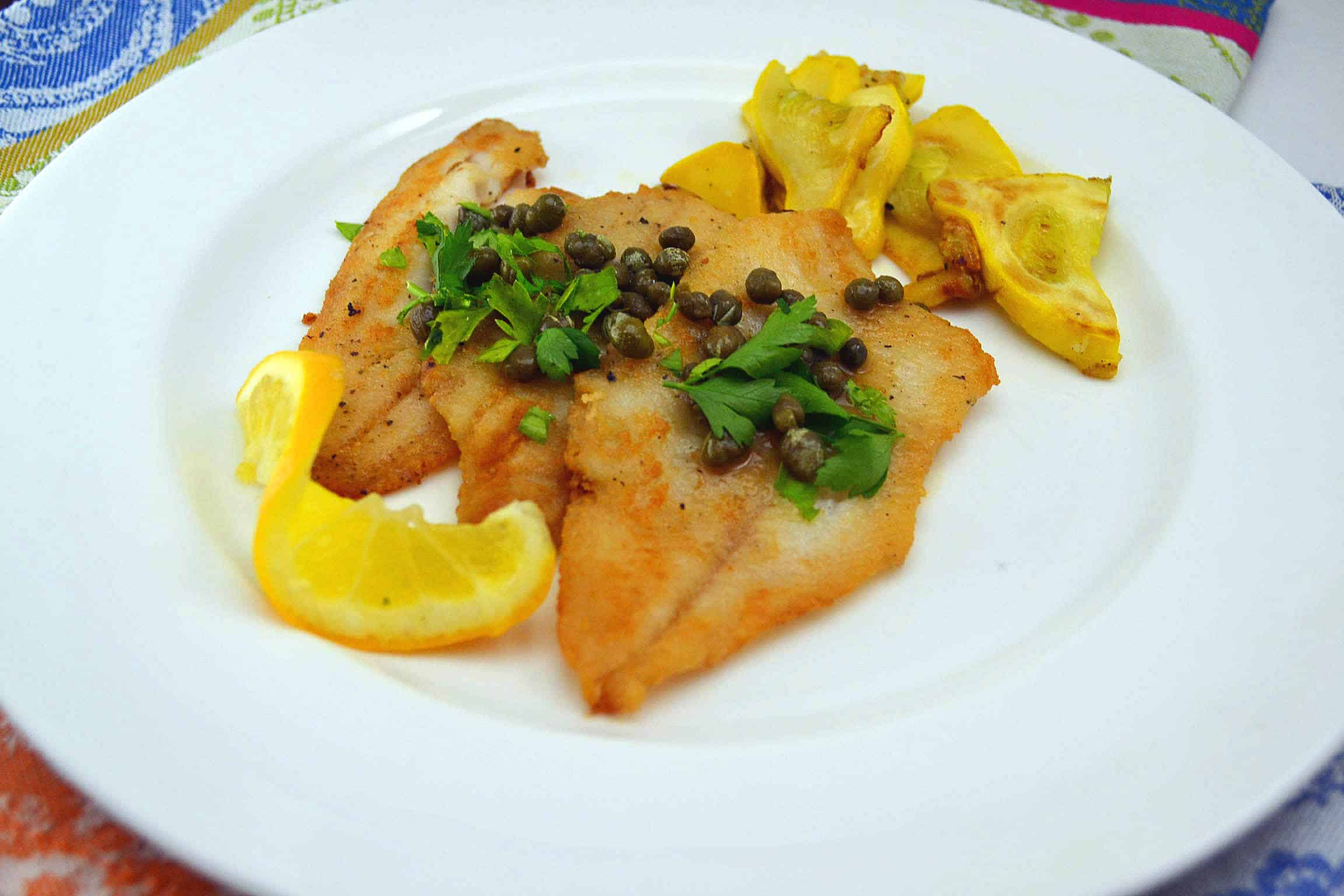 Julia Child's Fillets of Sole Meuniere | The Little Ferraro Kitchen