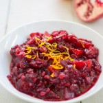 Apple-Pomegranate Cranberry Sauce