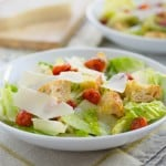 Classic Caesar Salad for #SundaySupper