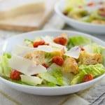 Classic Caesar Salad for #SundaySupper