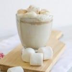 Boozy White Hot Chocolate