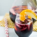 Pear and Pomegranate Sangria