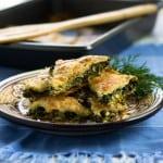 Spinach and Feta Borek (Turkish Spinach Pie)