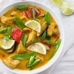 Lemongrass Chicken Coconut Curry