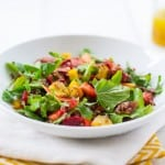 Rainbow Quinoa Salad with Honey Citrus Vinaigrette