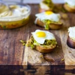 Hummus and Leek Crostini #HummusDay